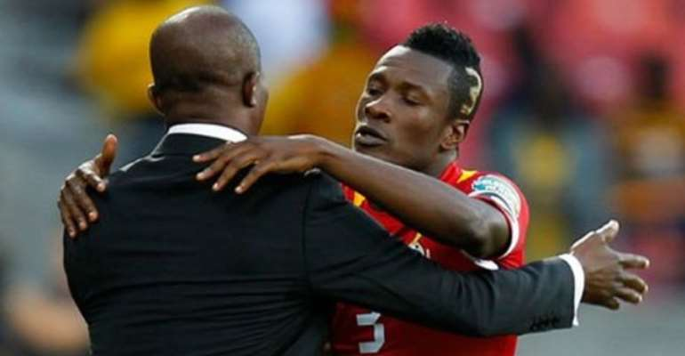 Three Reasons Why Kwesi Appiah Cannot Drop Asamoah Gyan