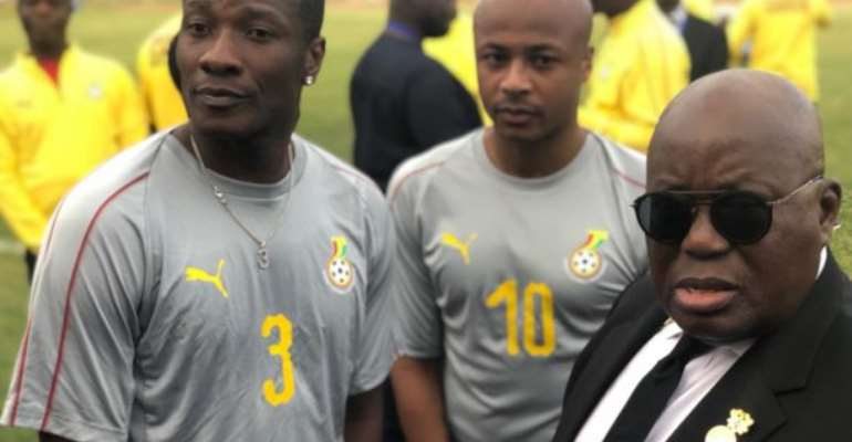 'A Presidential Request Cannot Be Disregarded' - Asamoah Gyan