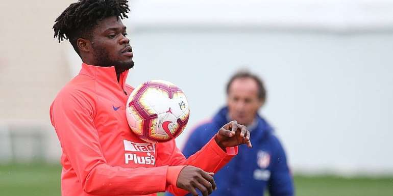 Thomas Partey Yet To Decide On Atletico Madrid Future