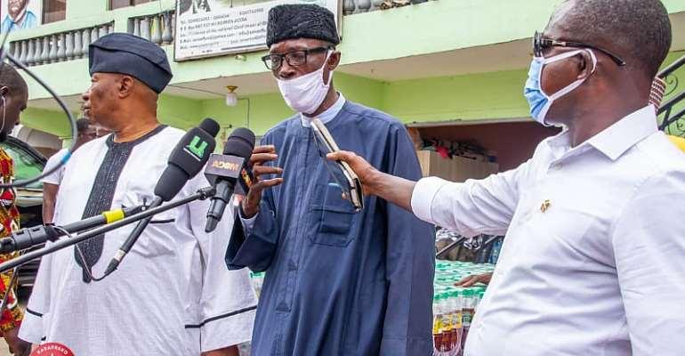Puma Drinks Donates To Chief Imam As Part Of Eid-Ul-Adha Festivity