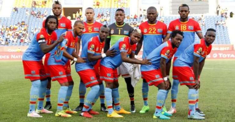 AFCON 2019: Two-Time Champions DR Congo Announce Provisional 32-Man Squad