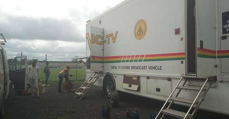 SHOCKING: Irate Aduana Supporters Stop GTV Crew From Entering Stadium
