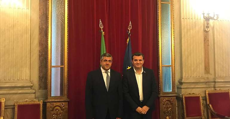 UNWTO Secretary-General On Official Visit To Italy, Deepening Partnership