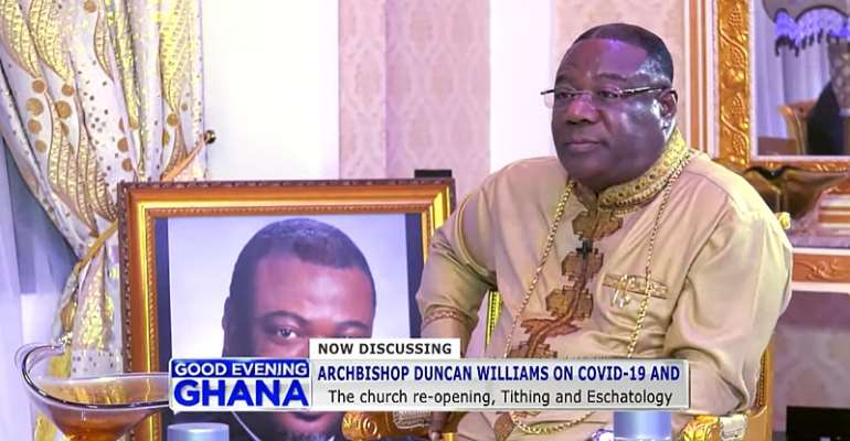 Tithing Issue Rejoinder: Duncan Williams Is Very Wrong!!