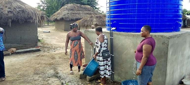 Volta Region: More Than 7,000 Residents Benefit From Water Project Amidst Jubilation