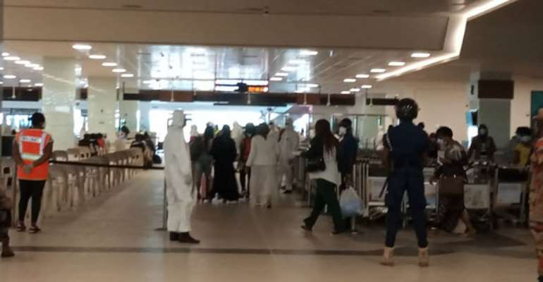 241 Ghanaian Immigrants, 43 Togolese Lands From Kuwait