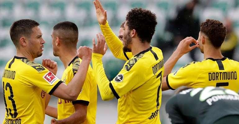 Bundesliga: Guerreiro And Hakimi Help Dortmund Keep Up Title Charge