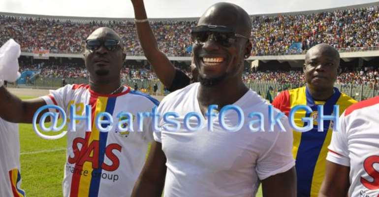 Stephen Appiah Not Giving Up On Coaching Hearts of Oak
