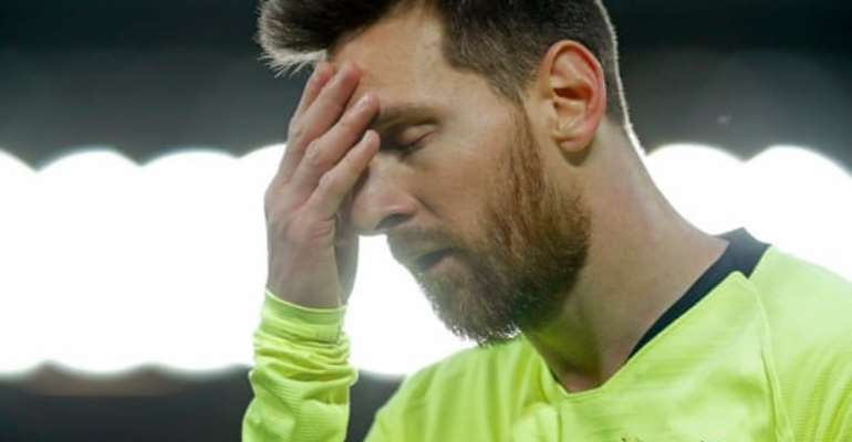 Messi Haunted By Liverpool Defeat