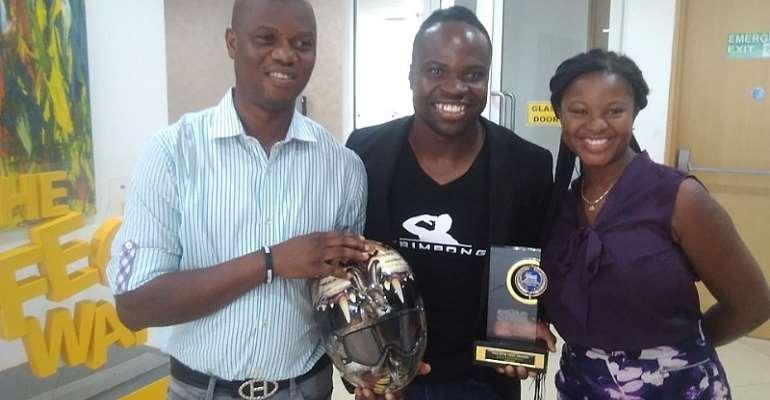 Akwasi Frimpong Receives SWAG Special Award