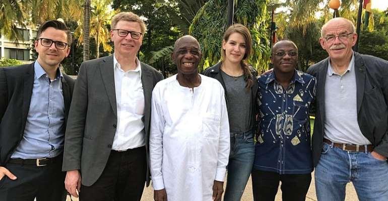 German Surgeons Meet Dr. Thomas Mensah On Telemedicine