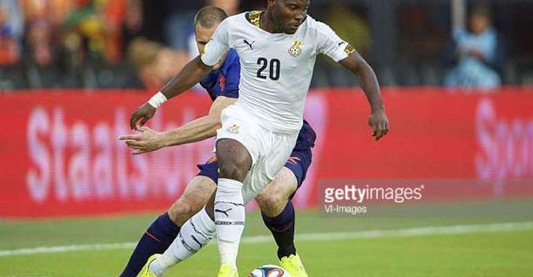 AFCON 2019: Kwadwo Asamoah Named Deputy Captain Of Black Stars Ahead Of Tourney
