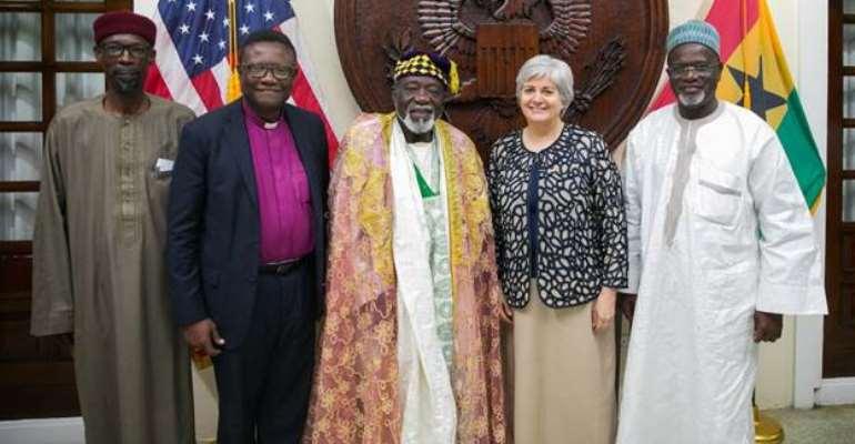 US Ambassador Sullivan Holds Iftar With Interfaith Community