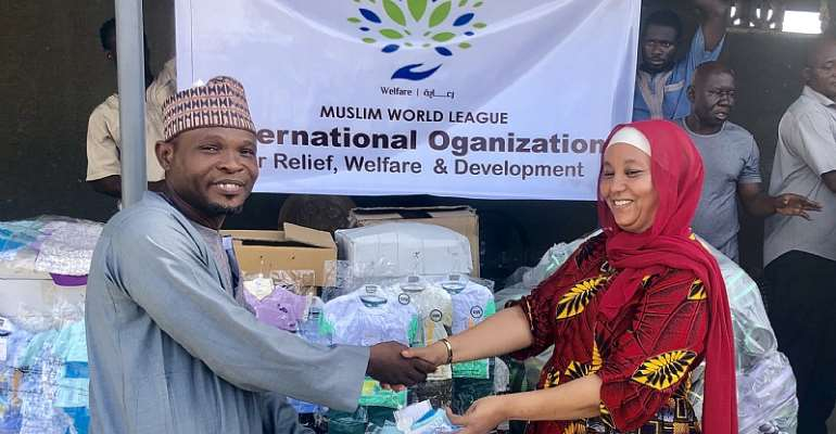 East Ayawaso MCE Supports Muslims, Kayaayei