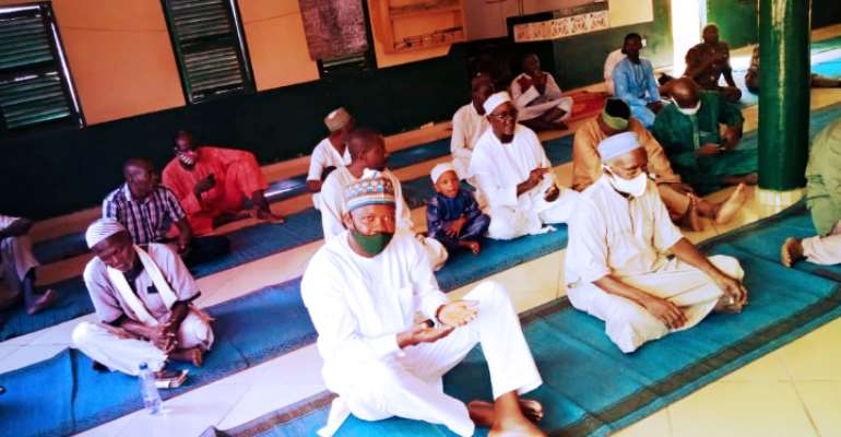 Akatsi South MP Supports Muslim Communities With Cash