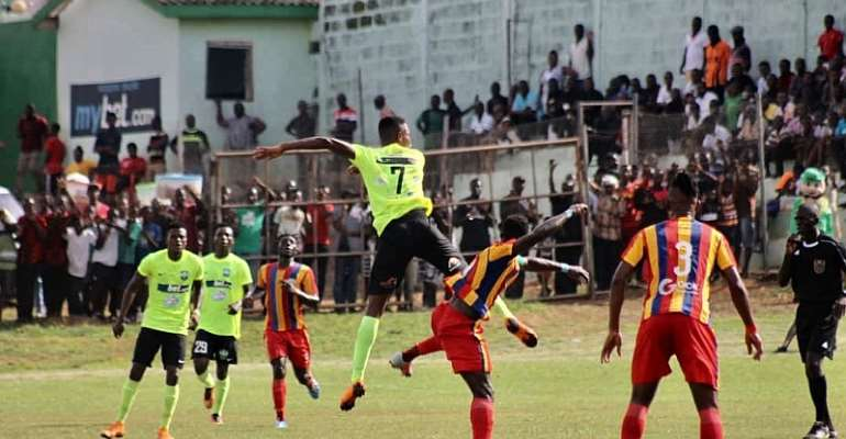 DREAMS FC 1-0 HEARTS: Phobians Fall Short In Dawu Against The Still Believe Boys