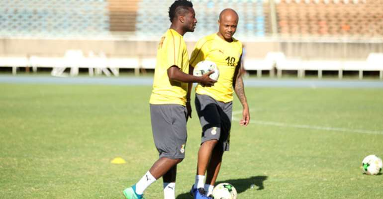 REVEALED: This Is Why Asamoah Gyan Lost Black Stars Captaincy To Andre Ayew