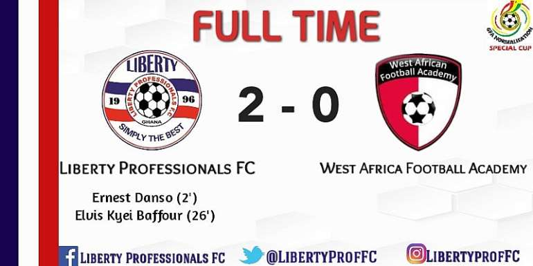 Liberty Bow Out Of NC Special Competition Despite Beating WAFA 2-0