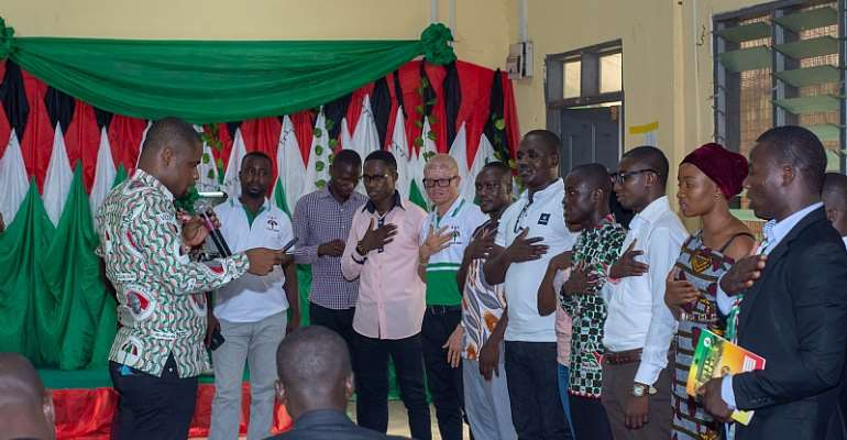 Tertiary Institutions Network Of NDC Tein Handing Over Ceremony
