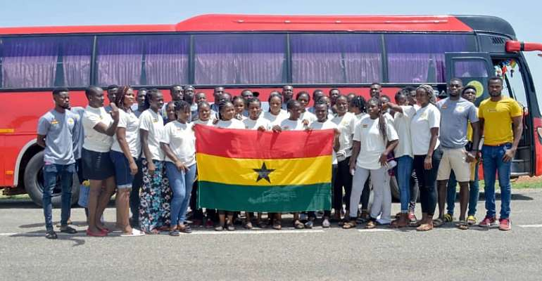 Volleyball: Elwak Wings arrive in Burkina Faso to represent Ghana in 10-nation tournament