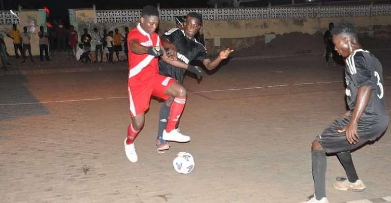 Ho Housing Pip Bankoe In Night Street Soccer League