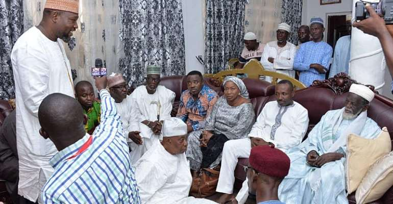 NPP Executives in Nat. Chief Imam's residence