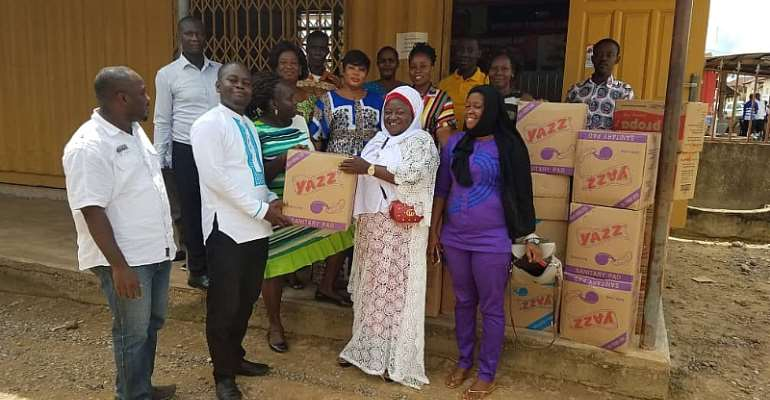 Prestea Huni-Valley MP Donate Towards National Menstruation Day