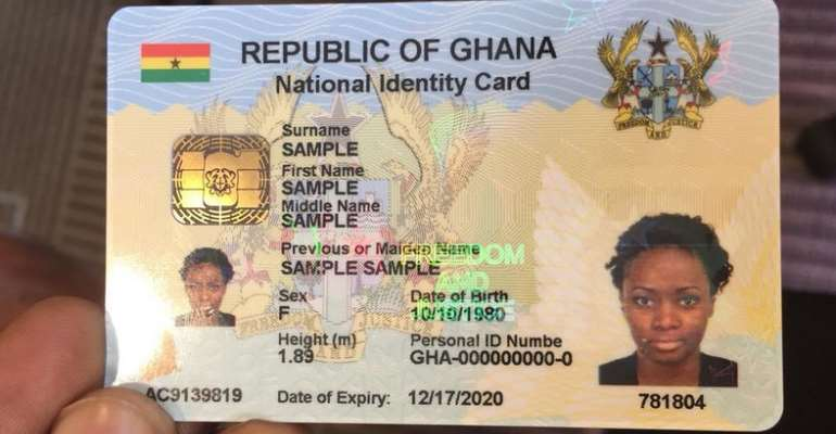 Ghana Card: Only 58% Of Residents In Accra West Registered