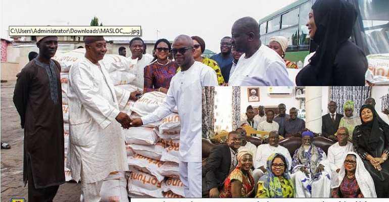 MASLOC Gives To Chief Imam