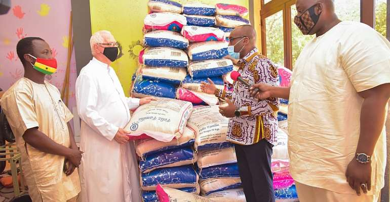 Street Children And Cured Lepers Receive Support From Vice President Bawumia