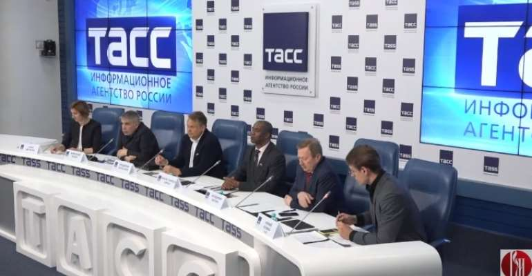 Russkiy Mir - Organiser Russia- Africa Media Conference, May 2021