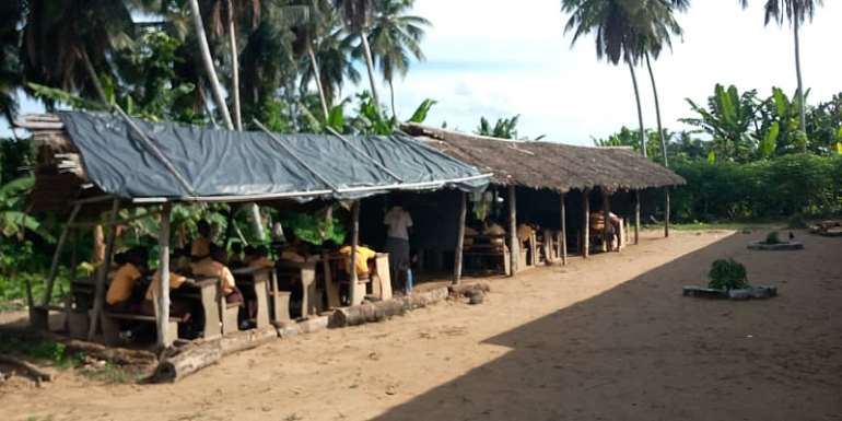 Abandoned Jomoro Classroom Project Forces Closure Of School