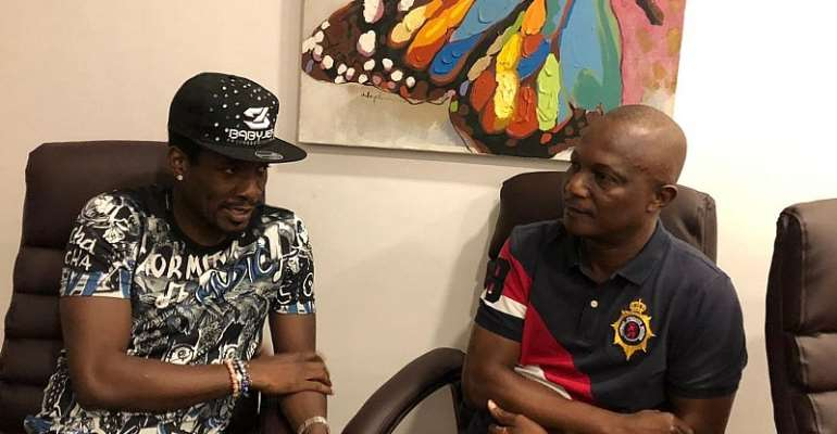 AFCON 2019: Prez. Akufo Addo Hails Asamoah Gyan & Kwesi Appiah For Smoking The Peace Pipe