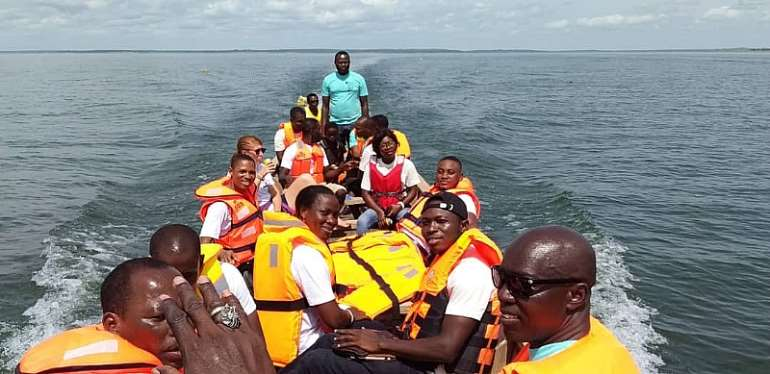 UEW, PACODEP Graduate Students Rescue 4 Trafficked Children On Volta Lake