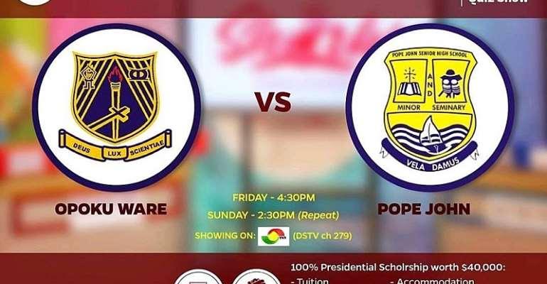 The Sharks Quiz – Opoku Ware School, Pope John Senior High To Meet To the final