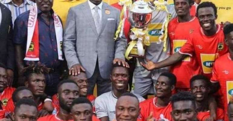 'Stop Chasing Young Girls And Drinking Of Alcohol' - Otumfuo Tells Kotoko Players