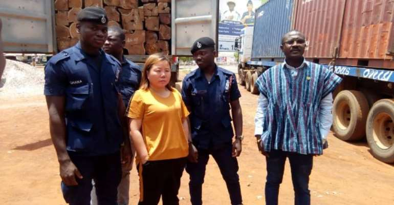 Rosewood Queen 'Dribbles' Ghana Police, Still Not Found