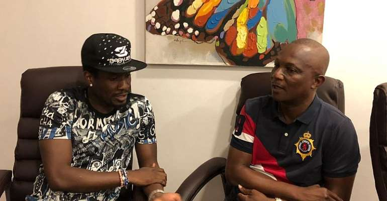 JUST IN: Kwesi Appiah And Asamoah Gyan Finally Holds Peace Talk Ahead of AFCON 2019