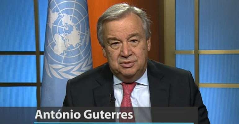 The United Nations Secretary-General, Antonio Guterres