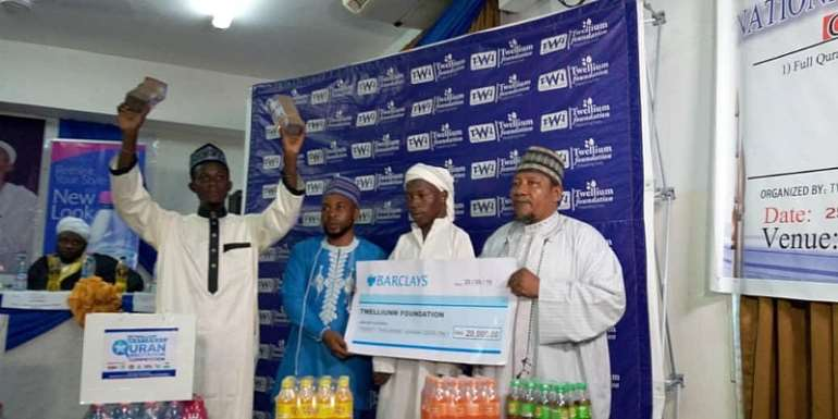 Physically Challenge Student Wins GH¢20,000 Twellium National Quran Competition
