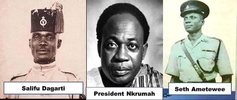 The 1964 Brawl in the Kitchen of the Flagstaff House: President Nkrumah versus Constable Ametewee, and How Supt. Dagarti Died