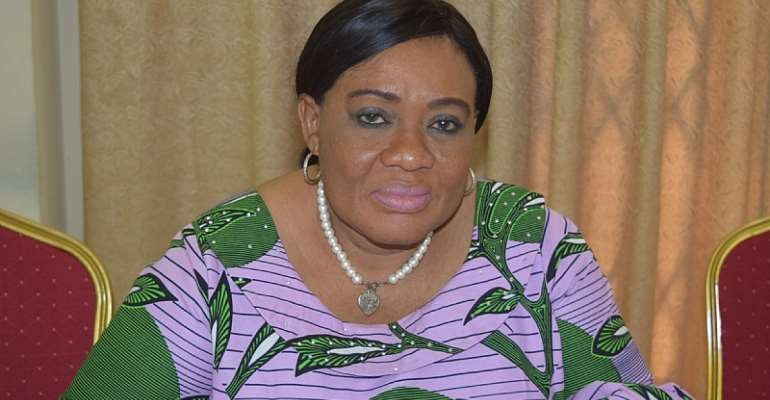 The Acting National Coordinator of the Ghana School Feeding Programme (GSFP), Dr. Mrs. Gertrude Quashigah