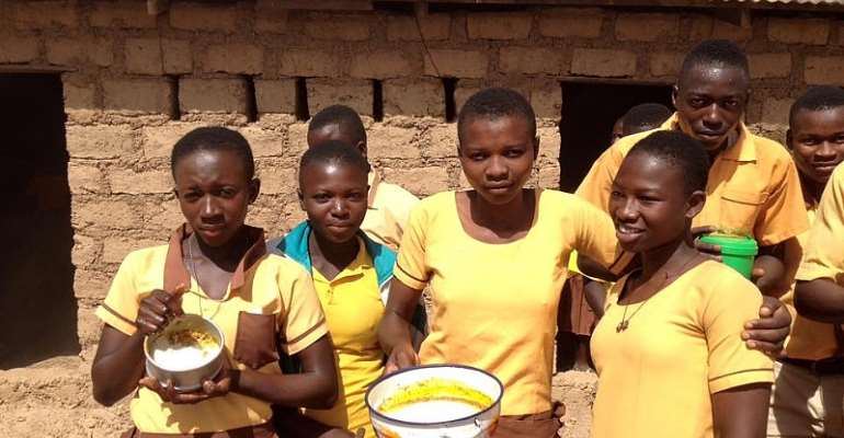 School Feeding: Teachers, Pupils Of Ohwimase Anglican Basic School Reject Meals Over Poor Quality