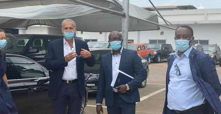 GFA President Kurt Okraku Visits Nissan, VW And Poche