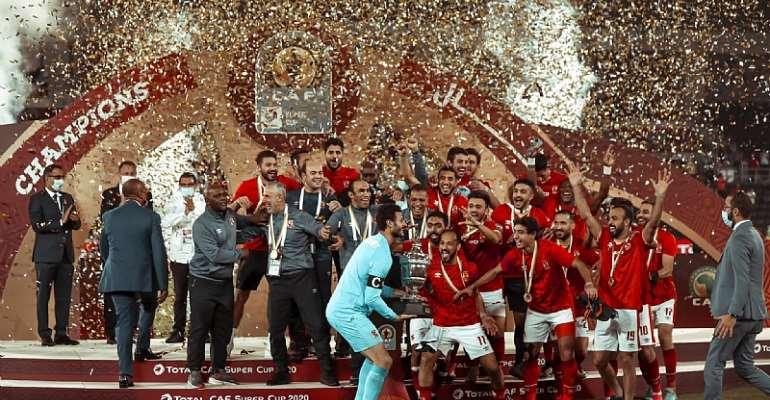 Al Ahly defeat Berkane to win African Super Cup in Doha