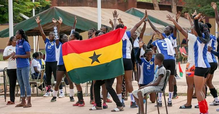 Volleyball: Elwak Wings female team advance to finals of invitational tournament in Burkina Faso