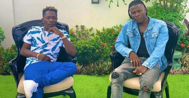 Stonebwoy Preaches Gospel As He Reunites With Shatta Wale