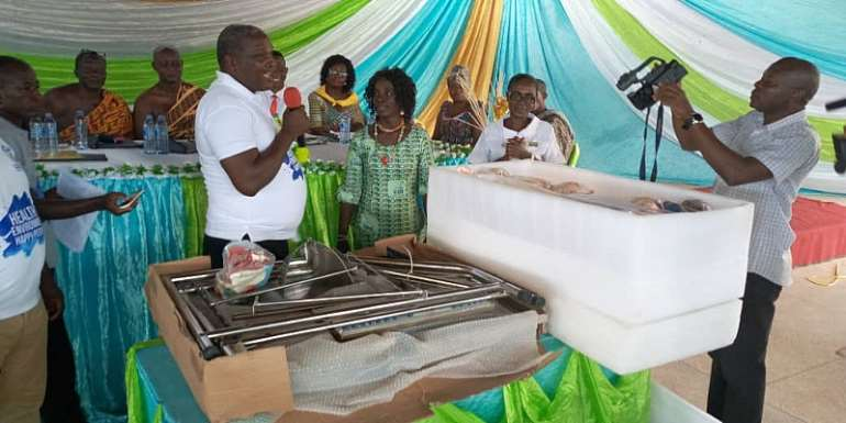 Esiama Community Health Nurses Training College Gets New Pregnancy Simulation Machine