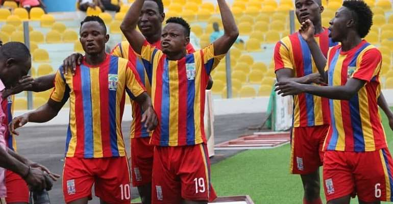 MATCH REPORT: Hearts 4-2 Uncle T Utd – Phobians Come From Behind To Run Riot Over Uncle T