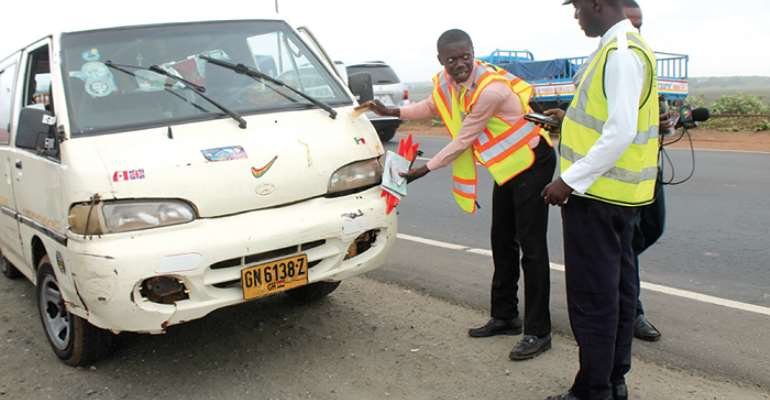 Law On Spot Fine Starts Next Month—Road Safety Boss